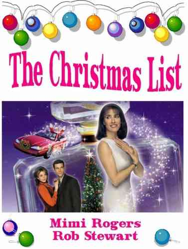 The Christmas List DVD - Mimi Rogers - Rob Stewart