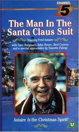 The Man In The Santa Claus Suit DVD - 1979 - Fred Astaire