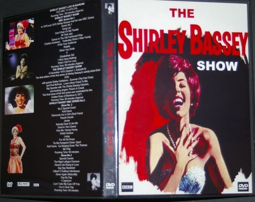 The Shirley Bassey Show DVD The Best of 1976 - 1979 DVD Box Set